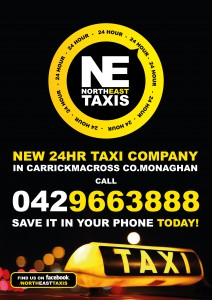 North East Taxis Poster-01